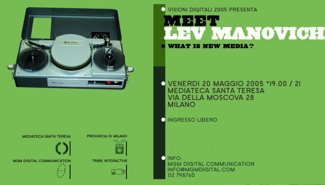Lev Manovich - cartolina 2005