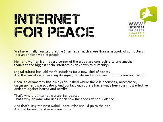 InternetForPeace - manifesto EN