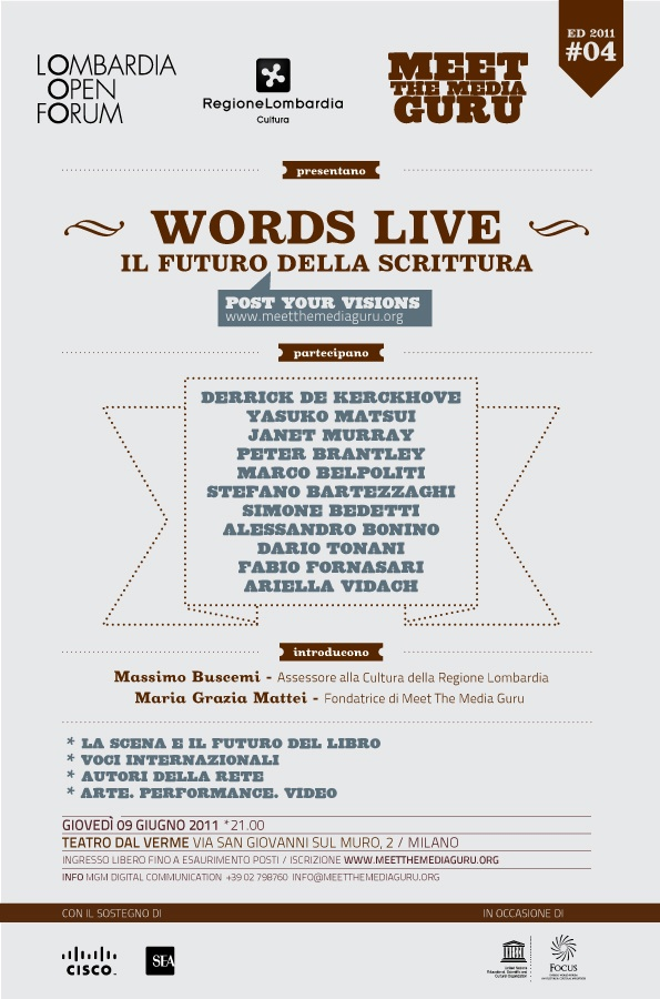 Words Live - card digitale