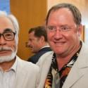 Miyazaki Lasseter by Japanator