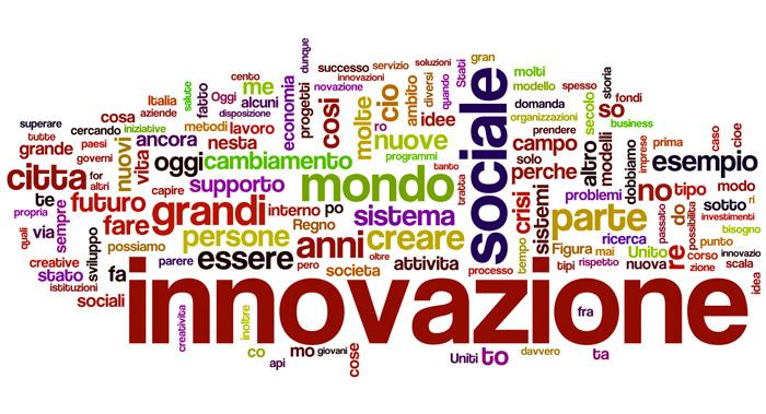 """Le 150 parole più utilizzate nel saggio """"Social Innovation"""" di G. Mulgan"""