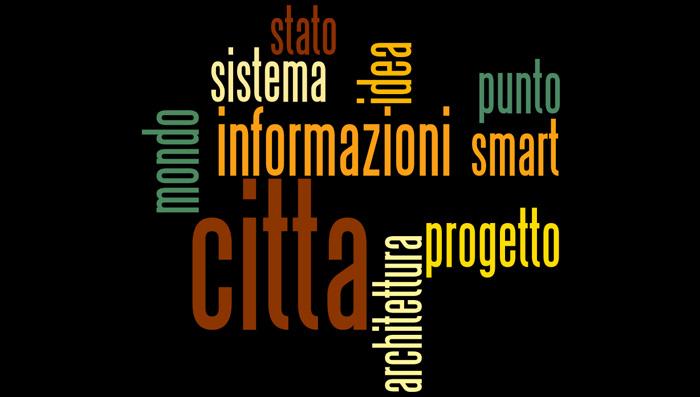 """Le 10 parole più utilizzate nel saggio """"Smart City, Smart Citizen"""" di C. Ratti"""