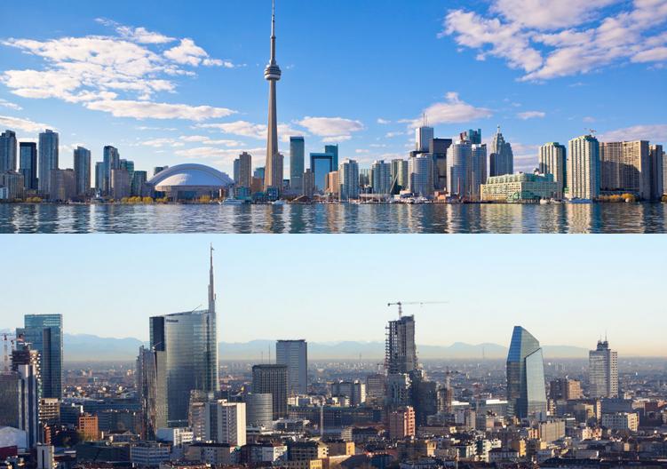 Toronto e Milano: le due città sono gemellate dal 2003