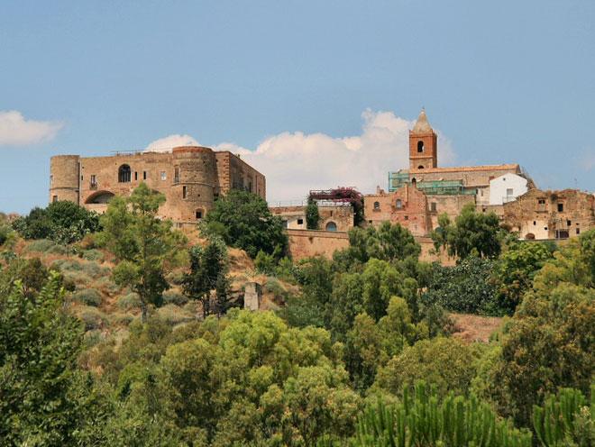 Un'immagine di Bernalda, paese d'origine della famiglia Coppola